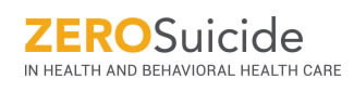 Zero Suicide website