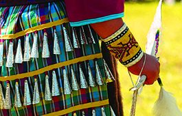 Native jingle dress dancer